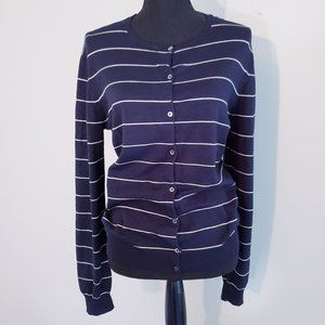 Ralph Lauren silk cardigan sweater Large